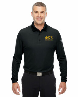 Phi Kappa Sigma Under Armour�  Men's Performance Long Sleeve Fraternity Polo