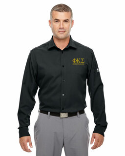 Phi Kappa Sigma Under Armour�  Men's Ultimate Fraternity Long Sleeve Buttondown