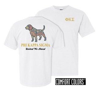 Phi Kappa Sigma United We Stand Comfort Colors T-Shirt