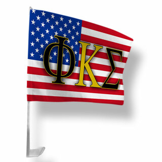 Phi Kappa Sigma USA Car Flag