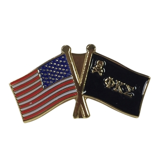 Phi Kappa Sigma USA Flag Lapel Pin