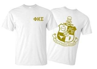 Phi Kappa Sigma World Famous Crest - Shield Tee