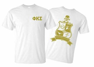 Phi Kappa Sigma World Famous Crest - Shield Tee