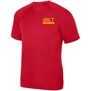 Phi Kappa Tau- $15 World Famous Dry Fit Wicking Tee