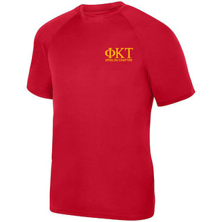 Phi Kappa Tau- $17.95 World Famous Dry Fit Wicking Tee