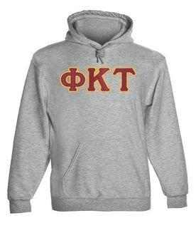 Phi Kappa Tau - 2 Day Ship Twill Hooded Sweatshirt
