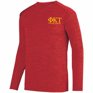 Phi Kappa Tau- $26.95 World Famous Dry Fit Tonal Long Sleeve Tee