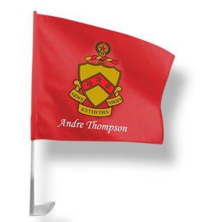 Phi Kappa Tau Car Flag