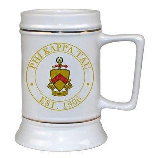 Phi Kappa Tau Ceramic Stein