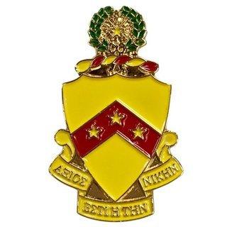 Phi Kappa Tau Color Crest - Shield Pins