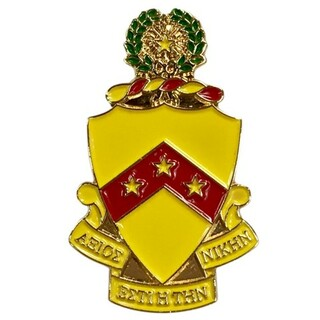 Phi Kappa Tau Color Crest - Shield Pins