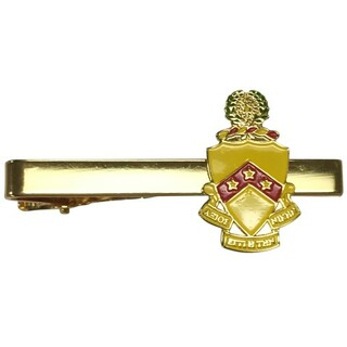 Phi Kappa Tau Color Crest - Shield Tie Clips