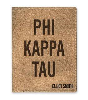 Phi Kappa Tau Cork Portfolio with Notepad