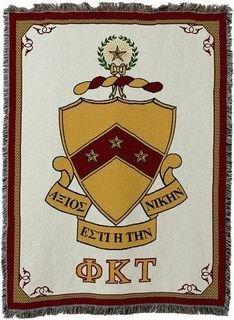 Phi Kappa Tau Crest - Shield Deluxe Afghan Blanket