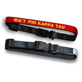 Phi Kappa Tau Dog Collar