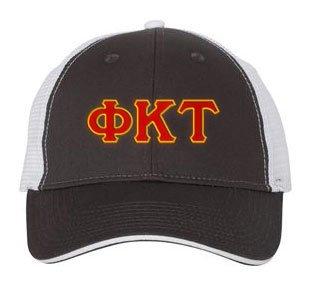 Phi Kappa Tau Double Greek Trucker Cap