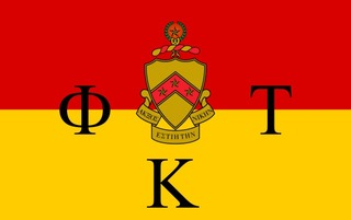 Phi Kappa Tau Flag Decal Sticker