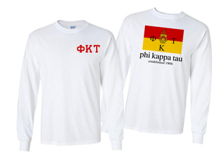 Phi Kappa Tau Flag Long Sleeve T-shirt