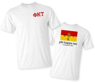 Phi Kappa Tau Flag T-Shirt