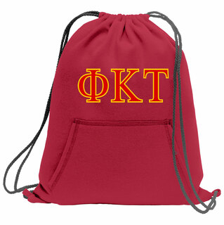 Phi Kappa Tau Fleece Sweatshirt Cinch Pack