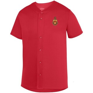 DISCOUNT-Phi Kappa Tau Fraternity Crest - Shield Sultan Baseball Jersey