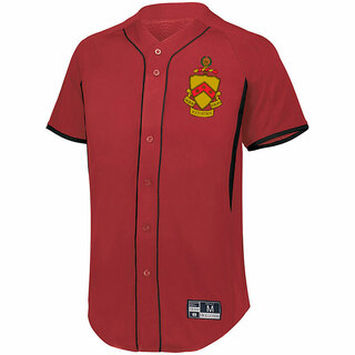 Phi Kappa Tau Game 7 Full-Button Baseball Jersey