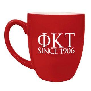 Phi Kappa Tau Greek Bistro Mug