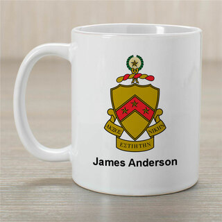 Phi Kappa Tau Greek Crest Coffee Mug - Personalized!