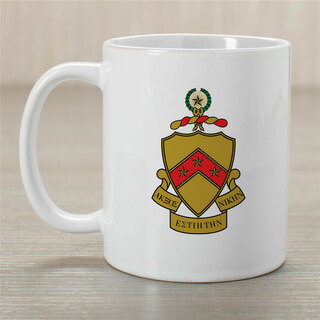 Phi Kappa Tau Greek Crest Coffee Mug