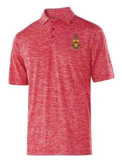 Phi Kappa Tau Greek Crest Emblem Electrify Polo