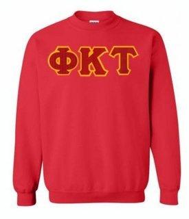 Phi Kappa Tau Greek Crewneck- MADE FAST!