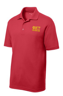 $30 World Famous Phi Kappa Tau Greek PosiCharge Polo