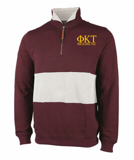 Phi Kappa Tau Greek Letter Quad Pullover