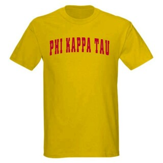 Phi Kappa Tau letterman tee