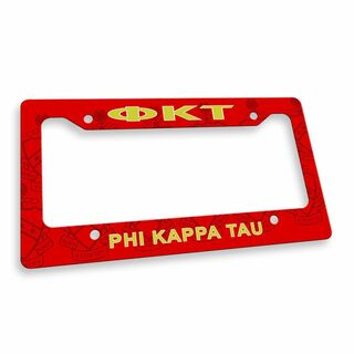 Phi Kappa Tau Custom License Plate Frame