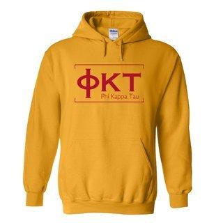 Phi Kappa Tau Logo Hooded Sweatshirt