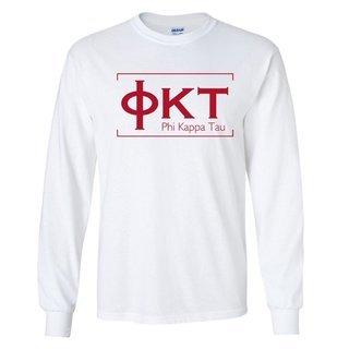 Phi Kappa Tau Logo Long Sleeve Tee