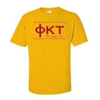 Phi Kappa Tau Logo Short Sleeve Tee