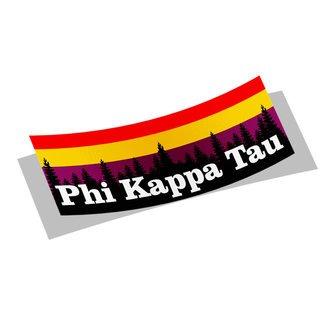 Phi Kappa Tau Mountain Decal Sticker