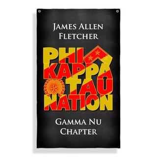 Phi Kappa Tau Nations Giant Flag