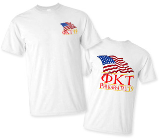 Phi Kappa Tau Patriot Limited Edition Tee- $15!