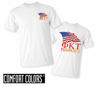Phi Kappa Tau Patriot  Limited Edition Tee - Comfort Colors