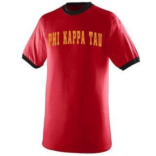 Phi Kappa Tau Ringer T-shirt