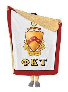 Phi Kappa Tau Sherpa Lap Blanket