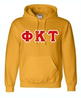 Phi Kappa Tau Sewn Lettered Sweatshirts