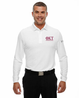 Phi Kappa Tau Under Armour�  Men's Performance Long Sleeve Fraternity Polo