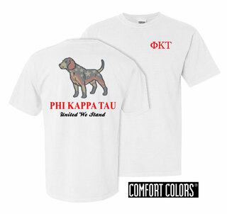 Phi Kappa Tau United We Stand Comfort Colors T-Shirt