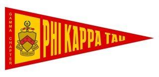 Phi Kappa Tau Wall Pennants