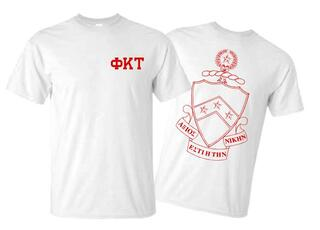Phi Kappa Tau World Famous Crest - Shield Tee