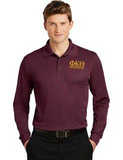Phi Kappa Theta- $30 World Famous Long Sleeve Dry Fit Polo